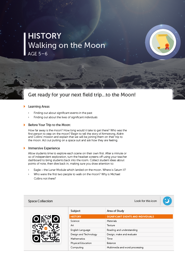 Walking on the Moon - Content - ClassConnect