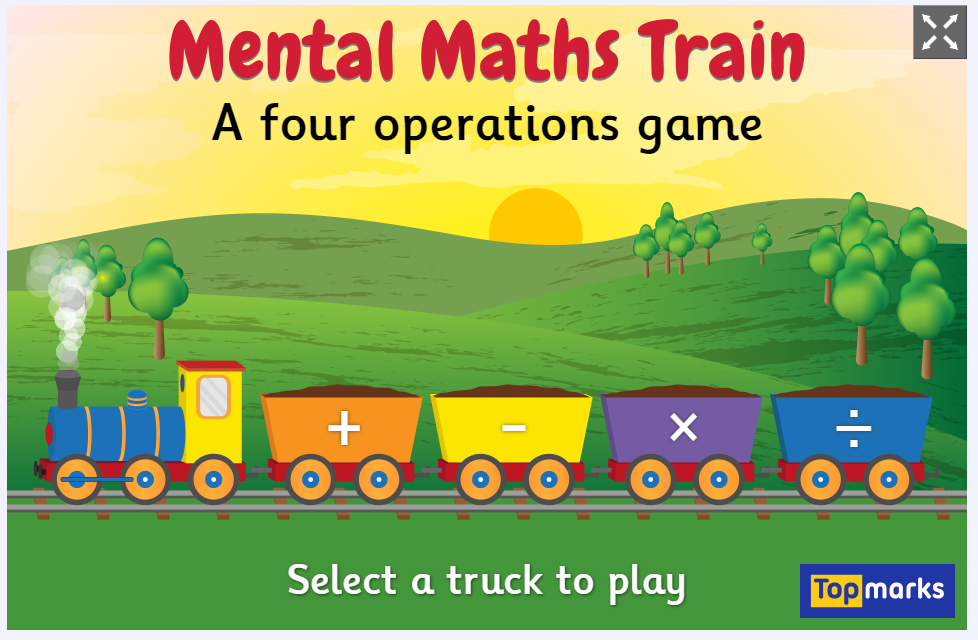 Image result for mental maths train